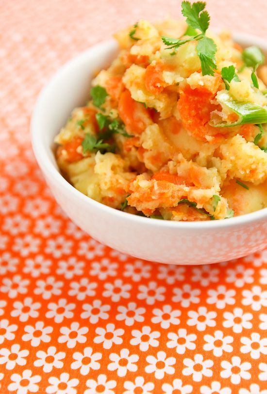 mashed veg