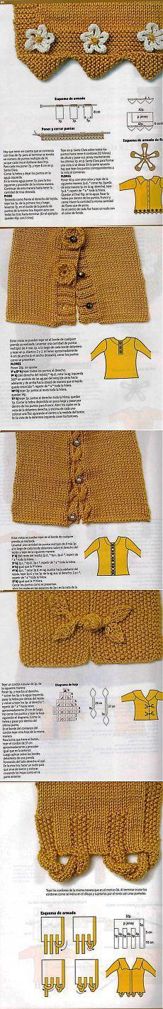 Ghidul perfect pentru tricotat - Para Ti Guia de Puntos - Aspect: gulere, manșete, benzi.