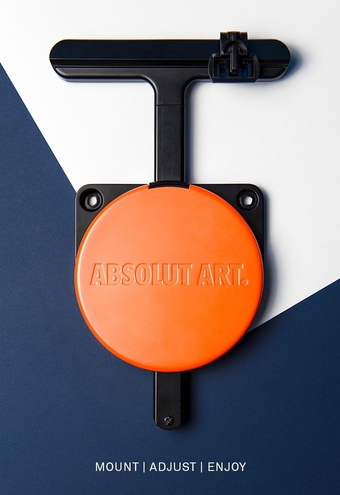 Absolut Hangsmart - an accessory by Absolut Art designed to simplify precise picture-hanging