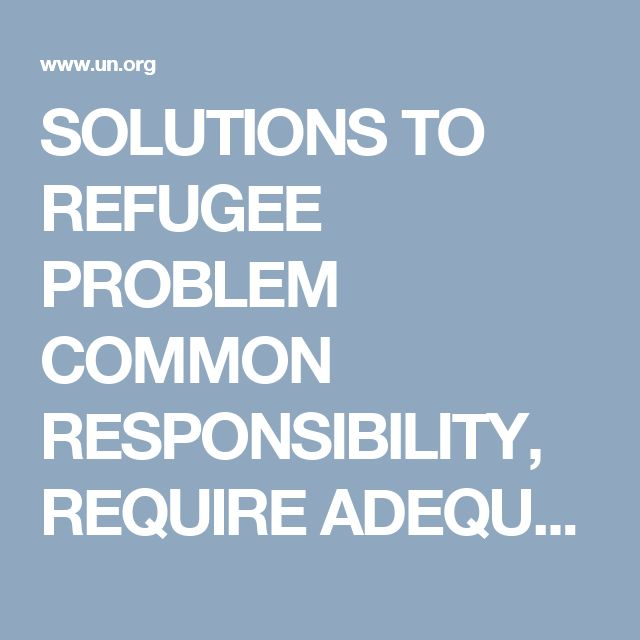 SOLUTIONS TO REFUGEE PROBLEM COMMON RESPONSIBILITY, REQUIRE ADEQUATE RESOURCES, RUUD LUBBERS TELLS SECURITY COUNCIL | Meetings Coverage and Press Releases
