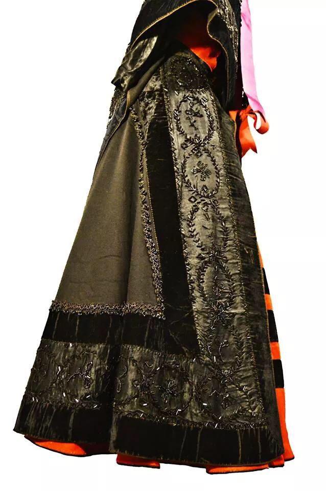 Old costume from A Ramallosa (Pontevedra)