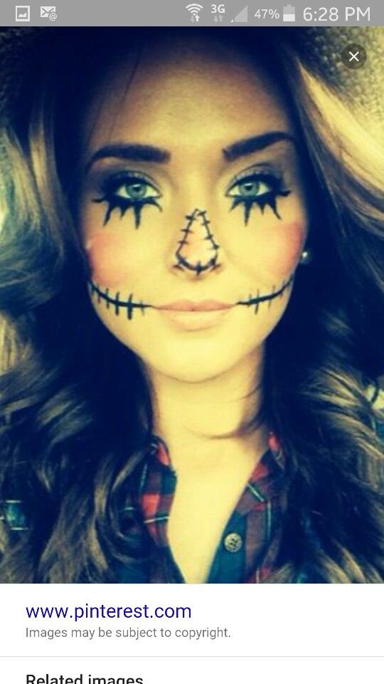 9 best halloween images on Pinterest Carnivals, Costume ideas and - scarecrow halloween costume ideas