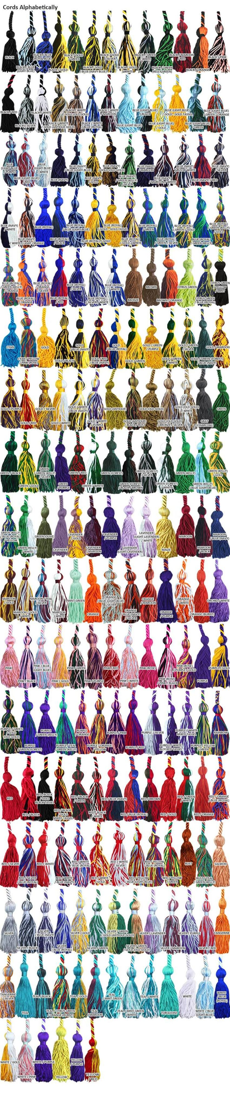 All cord colors