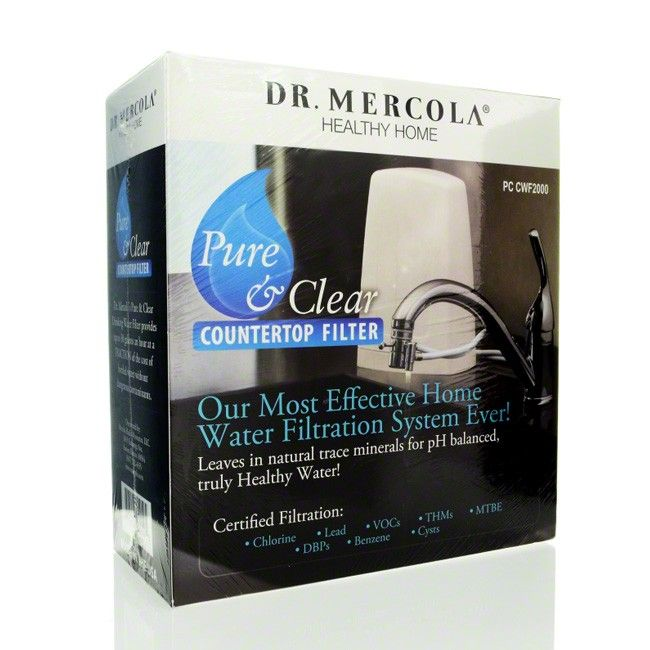 dr mercola countertop water filter