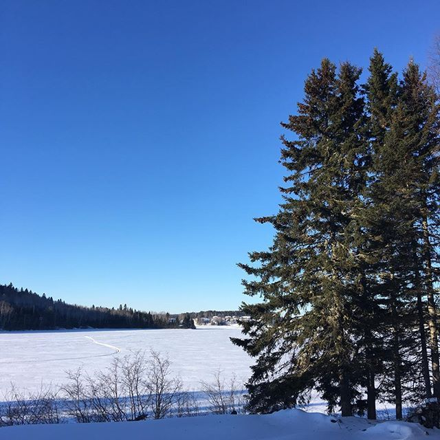 Lhiver sans filtre  #hiver #lanaudiere #stzenon #winterlife