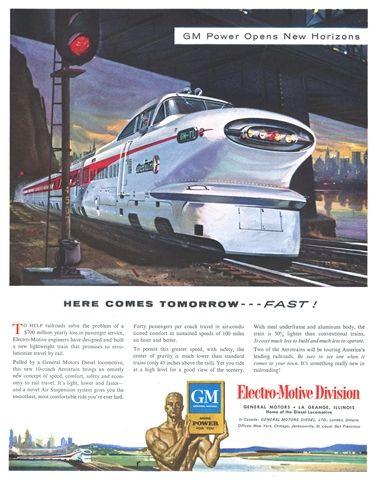 96 Best Images About General Motors Emd Aerotrain On Pinterest Rocks Pennsylvania And Model Train