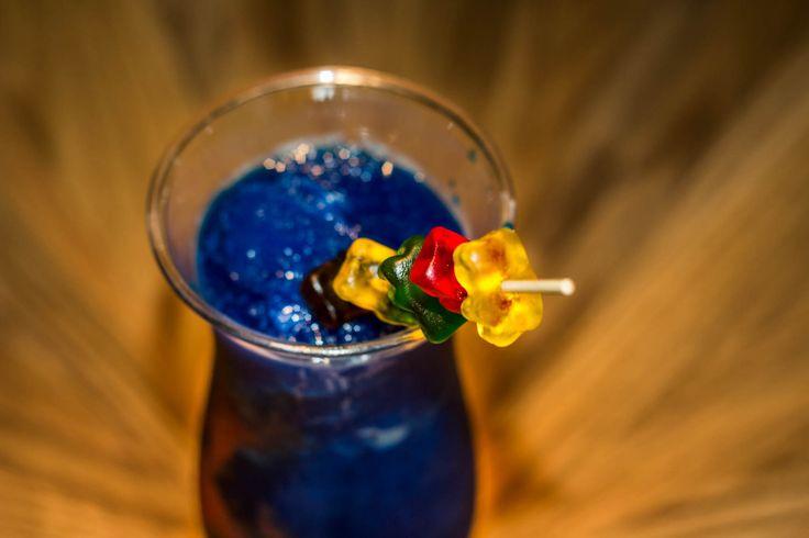 Delicious drink colorful  gummy bears Teens Club at #GrandVelas #RivieraNayari