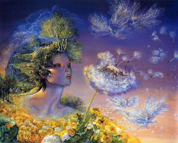 Josephine Wall: Oil Paintings, Time Flying, Art Paintings, Mothers Earth, Wall Paintings, Fantasy Artworks, Josephine Wall, Fairies Art, Mothers Natural