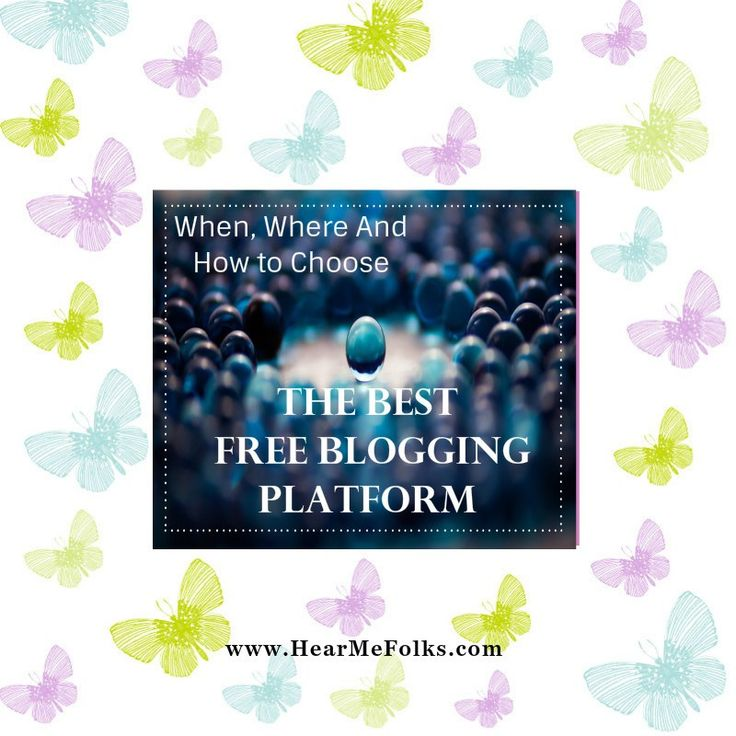 Looking to start a blog for free then you definitely need to know the pros and cons of the top 5 Free blogging platform to host your blog. http://hearmefolks.com/2016/03/best-free-blogging-platform-host-your-blog/