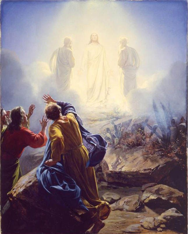 Jesus Christ Transfiguration