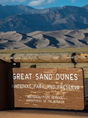 Visiting Great Sand Dunes National Park? Here are 10 things you should not miss! #travelguide Don't forget when traveling that electronic pickpockets are everywhere. Always stay protected with an Rfid Blocking travel wallet. igogeer.com for more information. #igogeer