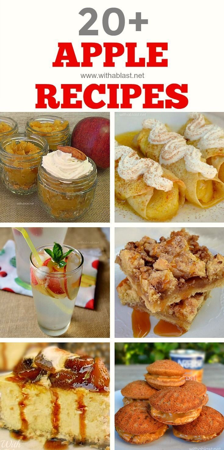 All things Apple - from Milkshakes to Desserts to Mains and all the in betweens ! #Apple #Dessert #EasyDinner #AppleDrinks