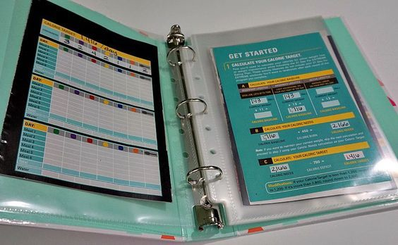 How to Make a 21 Day Fix Binder - Easy Living Today