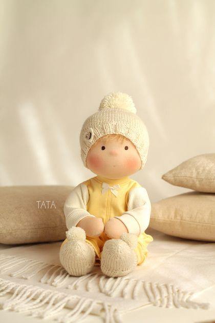 Купить Кукла Непоседа - вальдорфская кукла, вальдофская игрушка, вальдорфские куклы, вальдорфские куколки