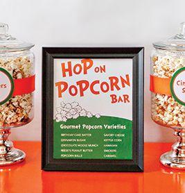 Hop on popcorn bar | Creative Ideas for Teacher Appreciation | PTOToday.com