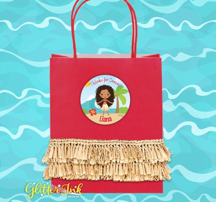 Moana Polynesian Princess inspired party by GlitterInkDesigns