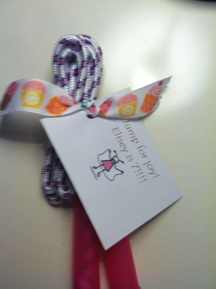 Cute non-edible school birthday treat.