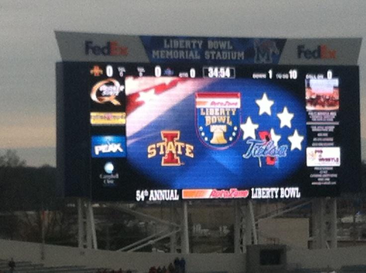 Liberty Bowl!