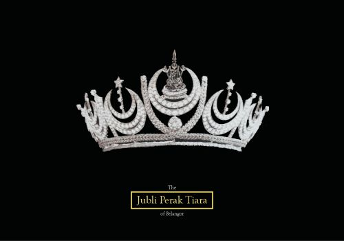 Noble Jewels | The Jubli Perak Tiara of Selangor.