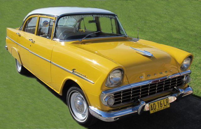 1961 Holden EK. Australian company competed with Ford until the 70's. Now outsourced & rebranded