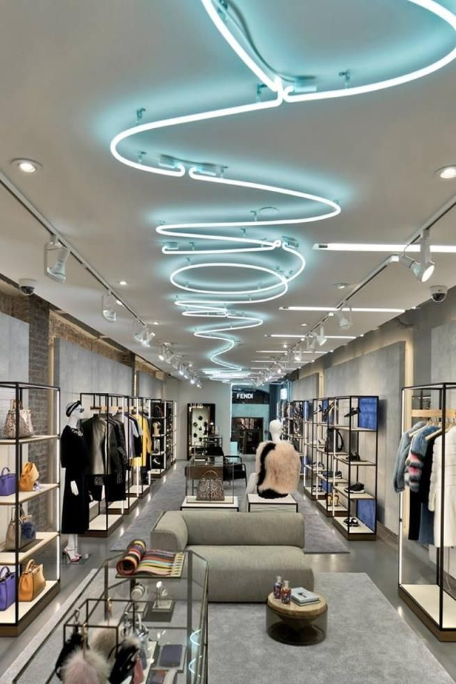 fendi soho pop up store in new york - Retail Design Ideas