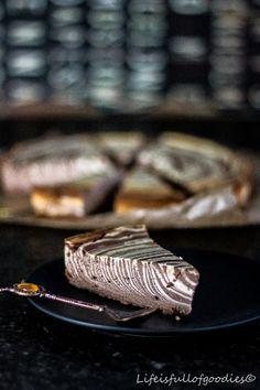 Zebramuster. Wie ich es liebe! Nicht nur bei meinen Bildern an der Wand, sondern auch in Form von Kuchen. Heute als leckeren Zebra-Käsekuchen.