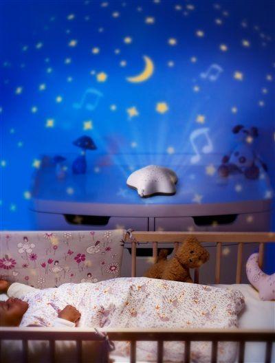 Veilleuse musicale PABOBO Projecteur d'étoiles TAUPE - vertbaudet enfant