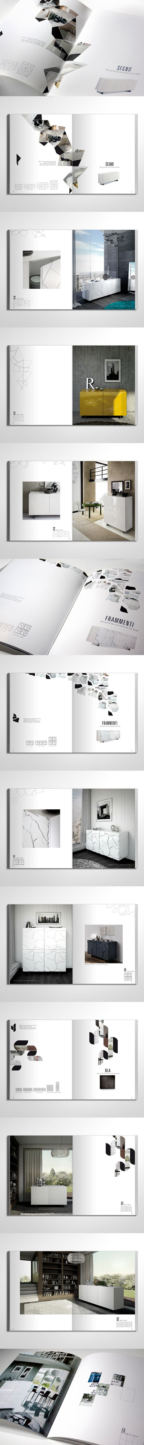 Furniture catalogue Riflessi  #behance