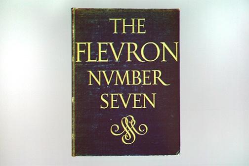 The Fleuron VII, 1929. Cover by Jan van Krimpen