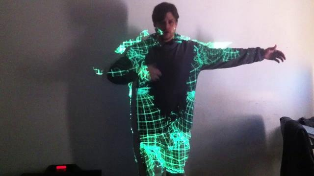 test kinect 2 by Trimex. Software Used: modul8 + madmapper + kinectmasker