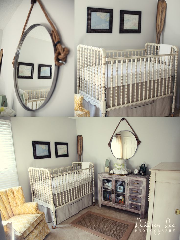 Nantucket Meets Sailing Sweet Baby Boy Room I Saw That Mirror In Homegoods
