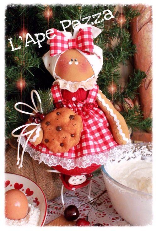Cartamodelli ginger Natale 2015 : Cartamodello GInger Mamy sulla palla