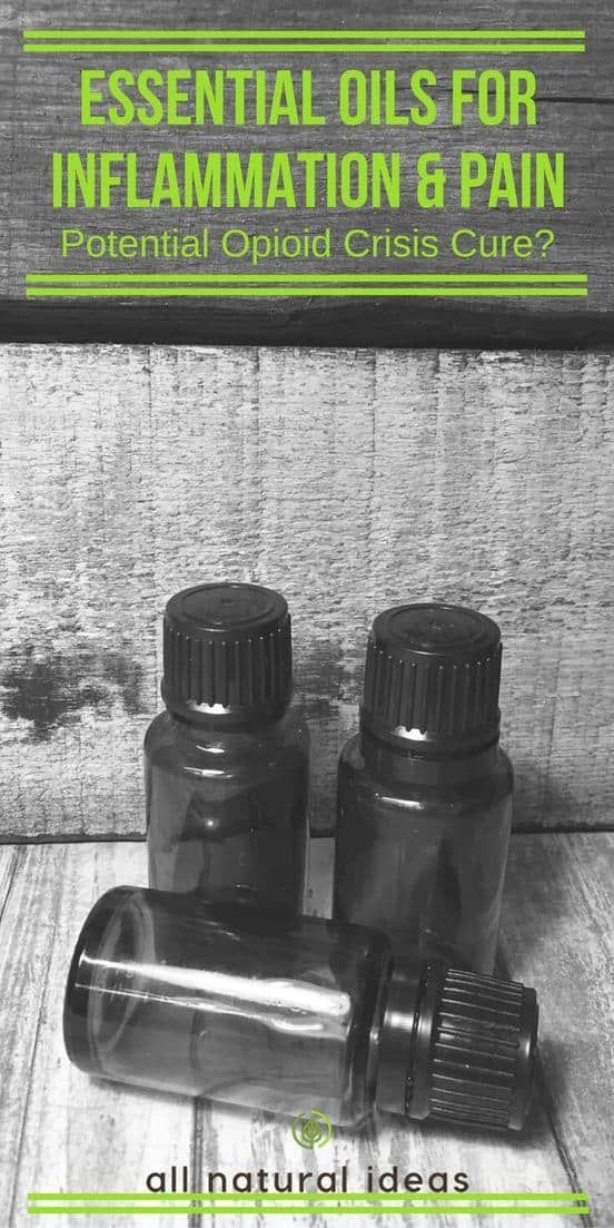 Essential oils for inflammation have been used for centuries. But it's only relatively recently that research studies have confirmed their use. #essentialoils #naturalremedy | allnaturalideas.com via @allnaturalideas