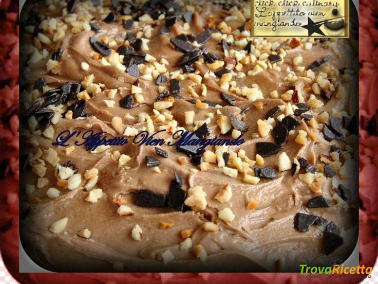 Crema Mascarpone alla Nutella e Nocciole  senza uova  #ricette #food #recipes