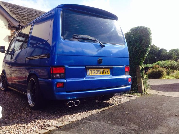 another nice t4 with our exhaust system pp tuning vw. Black Bedroom Furniture Sets. Home Design Ideas