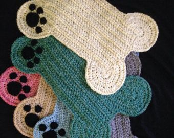 Free Crochet Pattern For Dog Bone Mat : 159 best images about Craft shows on Pinterest For dogs ...