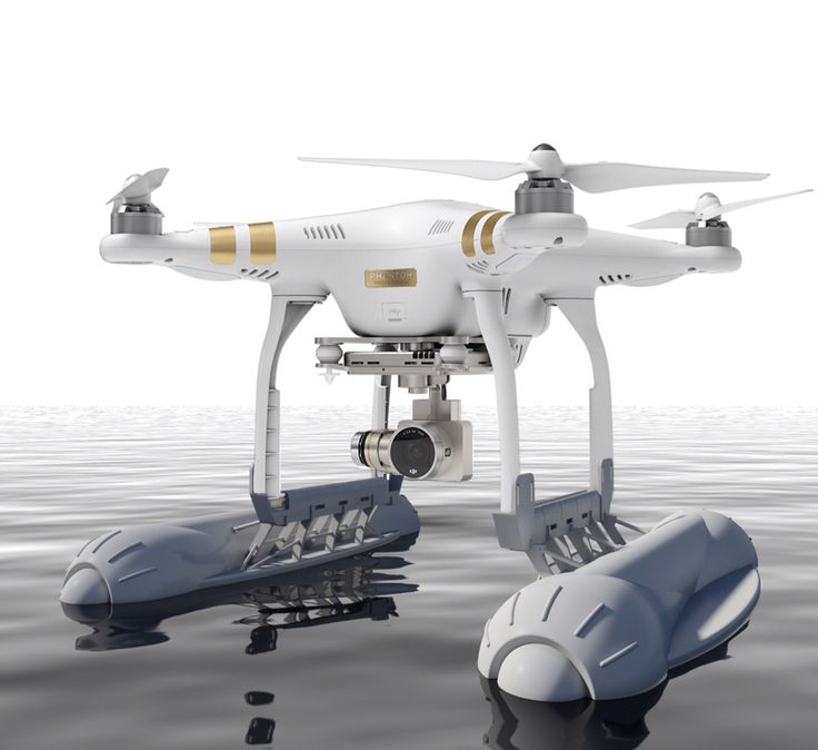 Float 3D printable for DJI Phantom drone