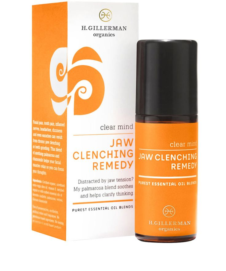 H. Gillerman Organics Clear Mind Jaw Clenching Remedy 30ml, H. Gillerman Organics | Body and Bath by H. Gillerman Organics | Liberty.co.uk