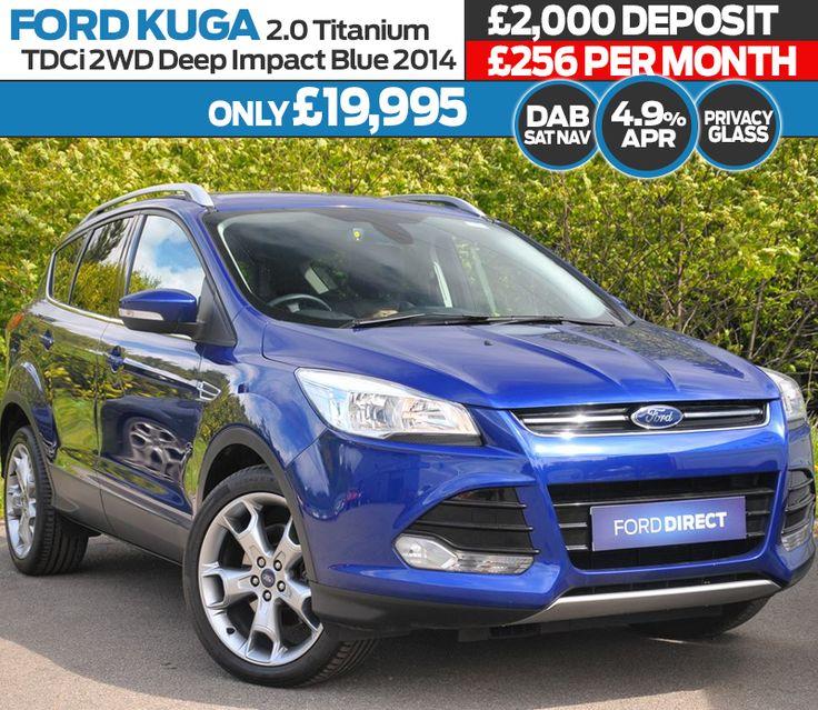 Used 2014 Ford Kuga 2.0 TDCi Titanium 5dr 2WD 5dr Suv Deep