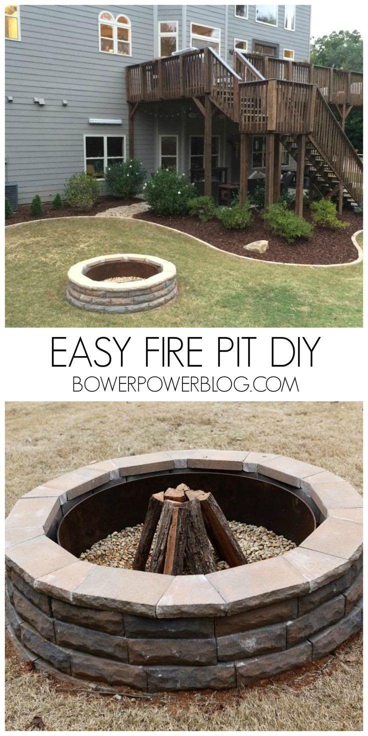 Best 25+ Round fire pit ideas on Pinterest | Large fire pit ...