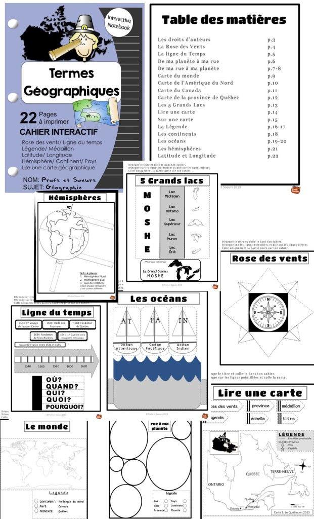 Cahiers Interactifs - Profs & Soeurs