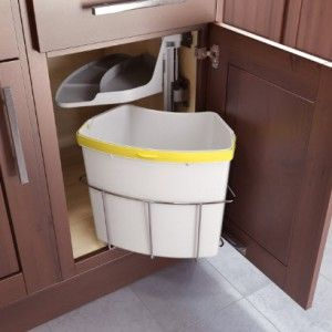 Oeko Kitchen Trash/Waste/Recycling Center For Under Your Sink Cabinet. Buy  At