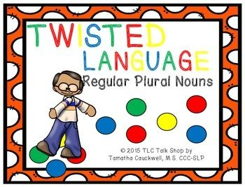 Free! Twisted Language...reg plural nouns