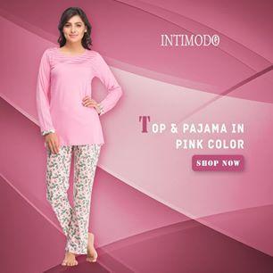 Buy #women #top and #pajamas, night pants, Satin #nightwear #online in India @ Intimodo.com Explore more