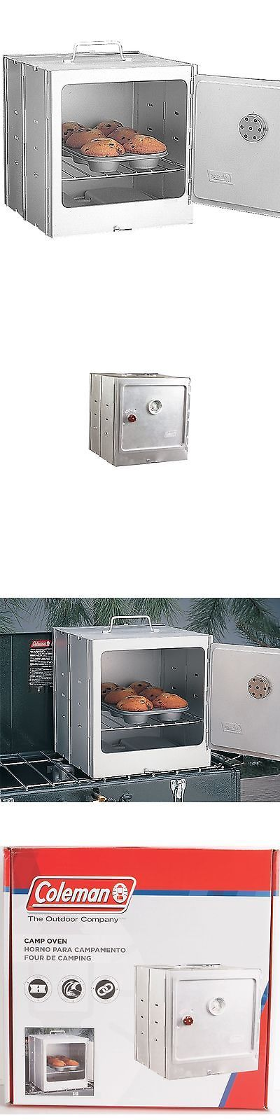 Camping Ovens 181387: Coleman Camp Oven BUY IT NOW ONLY: $37.03