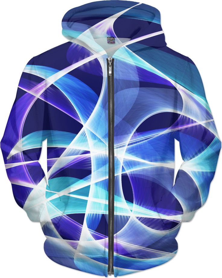 Waves Dark Blue Hoodie by Terrella available at https://www.rageon.com/products/waves-dark-blue-5?aff=BSDc on RageOn!
