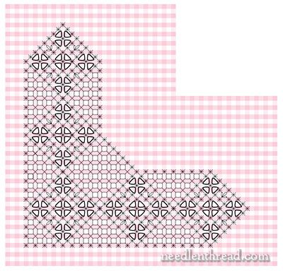 Gingham Lace / Chicken Scratch Embroidery Pattern