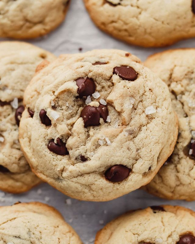 Sour Cream Chocolate Chip Cookies Parsley And Icing Recipe In 2020 Chocolate Chip Cookies Baking Peanut Butter Cookie Recipe