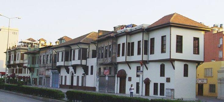Eski Adana evleri, tarihi evler