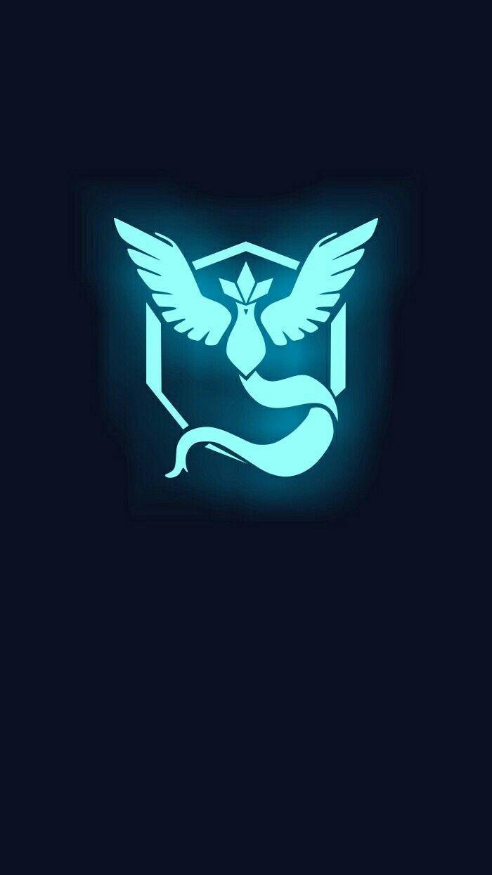 Pokemon GO Team Mystic Smartphone Wallpaper